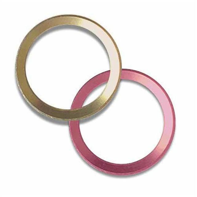 ハンズインターナショナル ホームボタンリング ゴールド&ピンク 《納期未定》