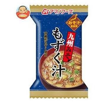 アマノフーズ フリーズドライ 九州みそ(もずく汁) 10食×12箱入