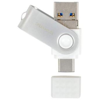 GREEN HOUSE GH-UF3TA64G-WH(ホワイト) USB3.1メモリ 64GB