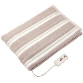 コイズミ 快眠タイマー付き電気掛敷毛布 KDK7556T