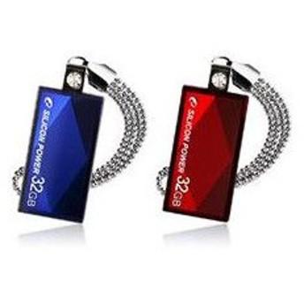 4GB USB TOUCH810 Series (Blue) SP004GBUF2810V1B シリコンパワージャパン USBメモリー