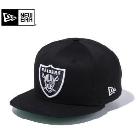 セール20%OFF!【メーカー取次】 NEW ERA ニューエラ 9FIFTY レイダース シールドロゴ ブラック 11308459 キャップ メンズ 帽子 アメフト NFL ブランド