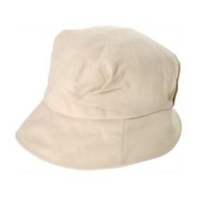 帽子好きが考えたかるーくて小顔な帽子 ベージュ 代引不可
