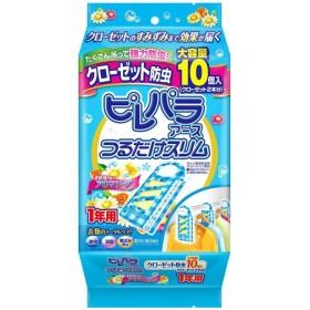 【A】 アース製薬 ピレパラアース つるだけスリム クローゼット防虫 1年用 柔軟剤の香り アロマソープ (10個入)