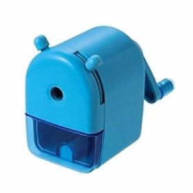 クツワ ミニ卓上えんぴつけずり ブルー RS026BL