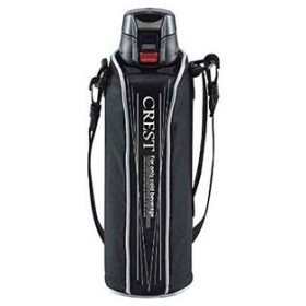 ワンタッチスポーツボトル クレスト ブラック 1L F-2671