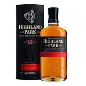 ウイスキー ハイランドパーク 18年 43度 箱付 700ml シングルモルト 洋酒 whisky