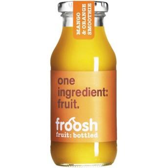【ケース販売】フルーシュ フルーツスムージー マンゴー&オレンジ 250ml×12本 代引不可