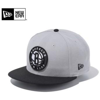 【メーカー取次】 NEW ERA ニューエラ 9FIFTY ブルックリン・ネッツ グレーXブラック 11433975 キャップ メンズ 帽子 NBA バスケット ブランド