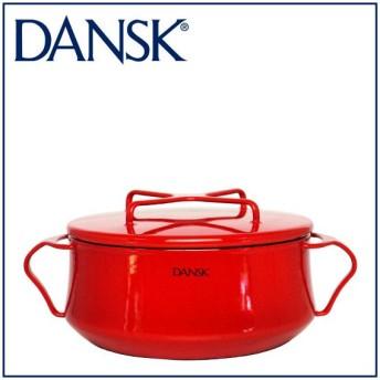 ダンスク ホーロー鍋 コべンスタイル2 両手鍋18cm チリレッド 2QT DANSK
