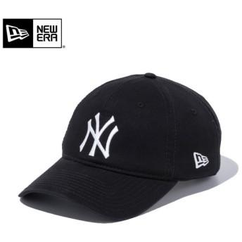 【メーカー取次】 NEW ERA ニューエラ 9TWENTY Cloth Strap ウォッシュドコットン ニューヨーク・ヤンキース ブラック 11308523 キャップ【Sx】