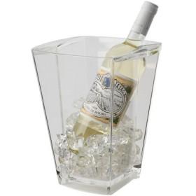 ワインクーラー アクリル ファンヴィーノ アラスカ ワインクーラー 1本用 6408