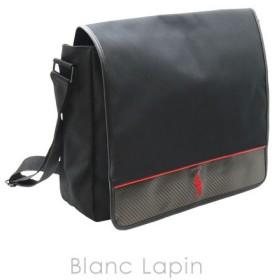【ノベルティ】 ラルフローレン RALPH LAUREN メッセンジャーバッグ #ブラック [807498]