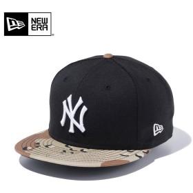 【メーカー取次】 NEW ERA ニューエラ 9FIFTY ニューヨーク・ヤンキース ブラックX6DAYカモ 11433957 キャップ メンズ 帽子 メジャーリーグ 野球