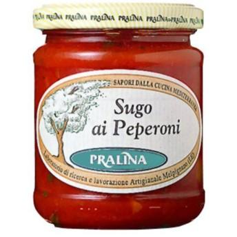プラリナ トマトソース ペペロニ 180g