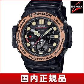 CASIO カシオ G-SHOCK Gショック クオーツ GN-1000RG-1AJF 国内正規品 MASTER OF G マスターオブG アナログ デジタル メンズ 腕時計 ウォッチ 黒 ブラック