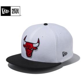 セール20%OFF!【メーカー取次】 NEW ERA ニューエラ 9FIFTY シカゴ・ブルズ ホワイトXブラック 11433972 キャップ メンズ 帽子 NBA バスケット ブランド