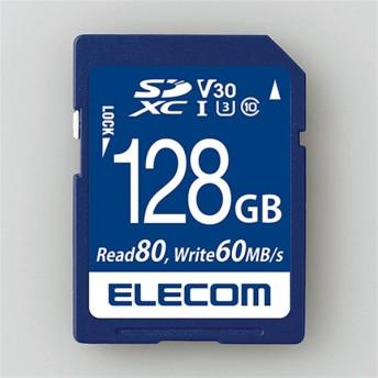 エレコム SDXCカード MF-FS128GU13V3R 容量:128GB