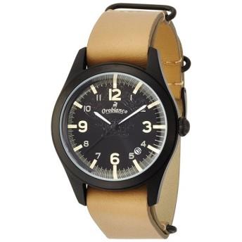 Orobianco 腕時計 TIMEORA CAMBiO Beige/Black OR-0030-106