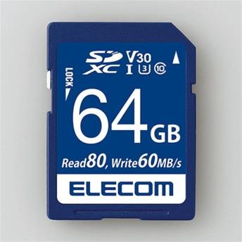 エレコム SDXCカード MF-FS064GU13V3R 容量:64GB