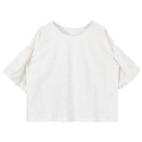 ティティベイト titivate バルーンスリーブカットソーTシャツ (ホワイト)