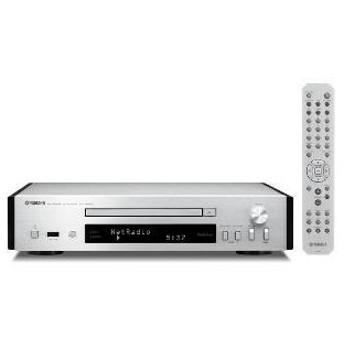 (長期無料保証) ヤマハ CDプレーヤー CD-NT670S シルバー