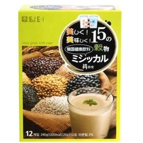15の穀物 ミシッカル(韓国健康飲料) 20g×12包 代引不可
