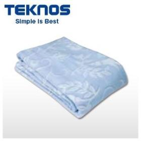 【あすつく】在庫あり EM-533 テクノス 洗える綿敷毛布