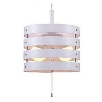 YAZAWA ペンダントライト2灯EFG100W形白 PDEG10044WH 照明器具