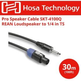 HOSA SKT-4100Q 30m スピコン-モノラルフォン スピーカーケーブル