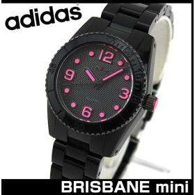 d0103e7d1f adidas アディダス BRISBANE NYLON ブリスベン ADH2982 海外モデル レディース 腕時計 防水 アナログ 黒 ブラック ピンク