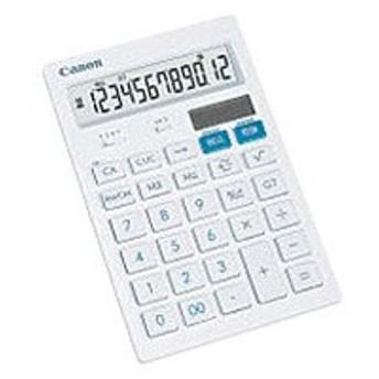 キヤノン デザイン電卓 12桁 HS-121T 返品種別A