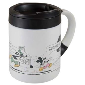 キャプテンスタッグ(CAPTAIN STAG) ディズニー ダブルステンレスマグカップ280 (ミッキー・コミック・ホワイト) MA-2097