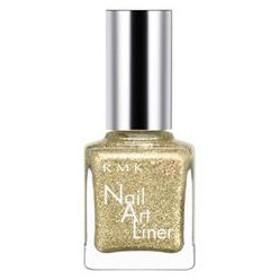 RMK アールエムケー ネイル アート ライナー #02 Shiny Gold 8ml