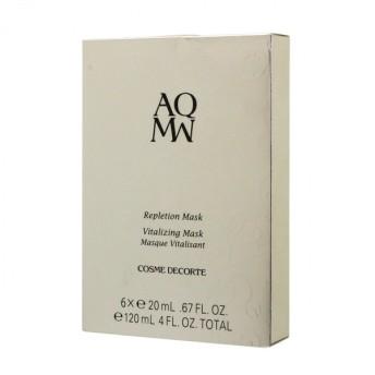 コーセー コスメデコルテ AQ MW レプリション マスク 20ml × 6枚 (スキンケア用シートマスク)