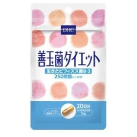 DHC 善玉菌ダイエット 20日分(20粒) DHC DHC20ニチゼンダマキンダイエ 返品種別B