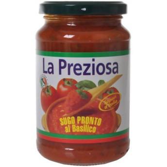 ラ・プレッツィオーサ パスタソース トマト&バジル 350g