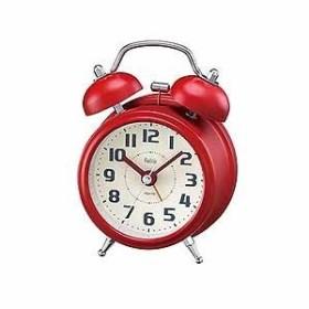ノア精密 アナログ置き時計 FEA170 R-Z レッド