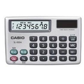 カシオ カード型電卓 8桁 SL-650A-N 返品種別A