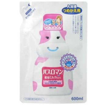 バスロマン 薬用ミルク仕立て とれたてミルク つめかえ用(入浴剤)