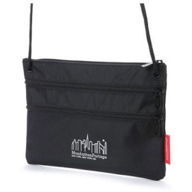 マンハッタンポーテージ Manhattan Portage Triple Zipper Pouch(L) (Black)