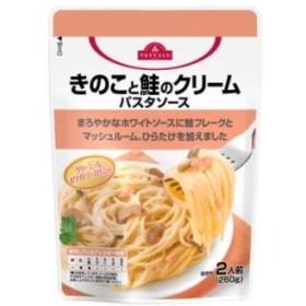 トップバリュ パスタソース きのこと鮭のクリーム (2人前・260g)