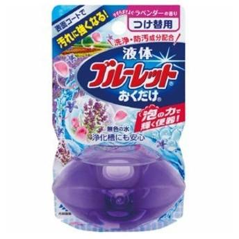 小林製薬 液体ブルーレット おくだけ ラベンダーの香り つけ替用 70mL