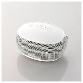 エレコム Bluetooth対応ワイヤレススピーカー(ホワイト) ELECOM LBT-SPP20WH 返品種別A