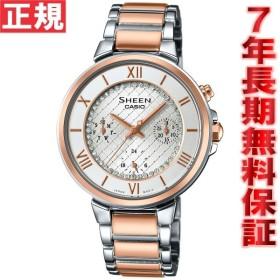 ポイント最大12倍! カシオ SHEEN シーン 腕時計 レディース SHE-3040SGJ-7AJF