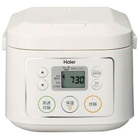 ハイアール マイコンジャー炊飯器 3合炊 ホワイト JJ-M30C-W