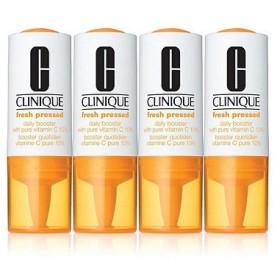 CLINIQUE クリニーク フレッシュ プレスト C10 デイリー ブースター 8.5ml x 4