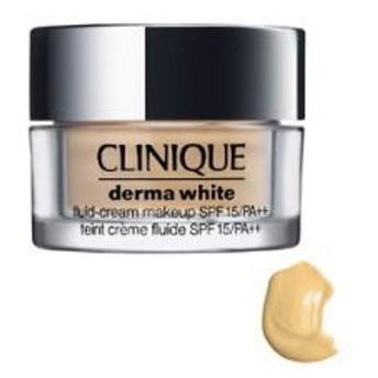 CLINIQUE クリニーク ダーマ ホワイト クリーム メーク アップ 15 #04 cream beige SPF 15 / PA++ 30ml