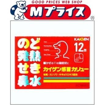 【第(2)類医薬品】【カイゲン】カイゲン感冒カリュー 12包