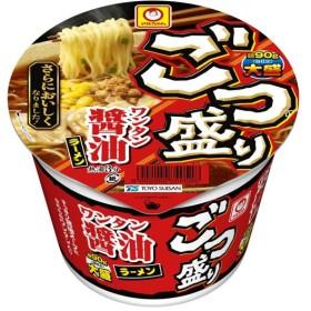 マルちゃん ごつ盛り ワンタン醤油ラーメン 117g×12 個入り(1ケース) (KK) クレジット決済のみ